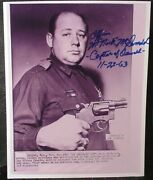 Nick M. Mcdonald Police Officer Catured Lee Harvey Oswald Signed Photo Sold Out