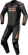 Alpinestars Gp Force Motorcycle Street Bike Black/red Leather Suit - All Sizes