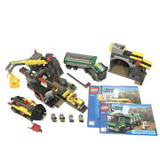 Lego 4204 The Mine - 2012 - 95 Complete - 2 Manuals