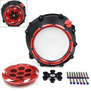 Red Clutch Cover Pressure Plate Spring Retainer For Bmw 12-18 Hp4 09-17 S1000rr