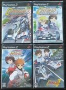 Lot Of 4game / Future Gpx Cyber Formula / Ps2 Playstation 2
