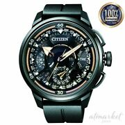 Citizen Watch Cc7005-16g Menand039s Black Analog Round Face Double Direct Flight