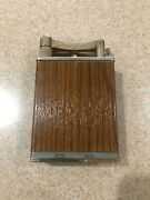 """Vintage Jumbo Lift Arm Table Lighter 5¾"""" Tall In Working Order"""