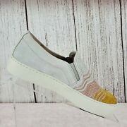 Frye Lena Wave Womenand039s Honey Multi Suede Slip On Sneakers Shoes Size 6 M