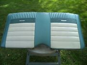 Ford Mustang Convertible Deluxe Pony Original Upper Rear Seat 1964-1966
