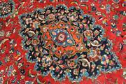 8and0394 X 10and0399 Signed Kurdish S Antique Handmade Wool Area Rug Oriental Carpet 8x11