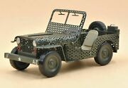 High Quality Metal Diecast Jeep Model Car Antique Toy Car For Collection Home