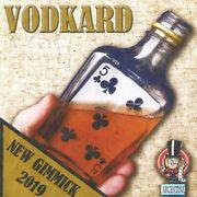 Vodkard Magic Tricks Card Appear Bottle Close Up Illusions Gimmick Stage Magic