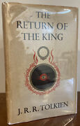 Return Of The King First Edition Lord Of The Rings J.r.r. Tolkien 2nd Imp Jacket