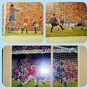 006 - Reduced Man United Treble Season Signed Print Collection Parts 1 2 3
