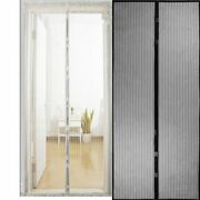 Hot Summer Anti Mosquito Insect Fly Bug Curtains Magnetic Net Mesh Automatic Clo