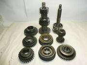 66 Ford Mustang Borg Warner T-10 Q Wide Ratio 4 Speed Transmission Gear Train