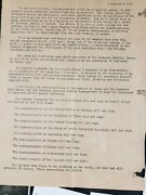 Original Surrender Of Japan Papers And Photos And Related Items Ww2 Wwii Rare