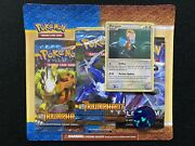 2010 Pokemon Heart Gold Soul Silver Triumphant 3 Pack Blister Factory Sealed