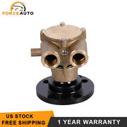 New Crank Mounted Sea Raw Water Pump For 79-93 Volvo Penta 857451 856952 855722