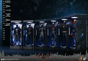Arkham Knight Armory Case Hot Toys Vgmc009-015 Display W/doll Toy