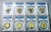 Lithuania - 2012 And 2013 Years - 2 Litai - Proof Set - Pcgs Grades
