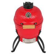 13 Kamado Grill Ceramic Charcoal Egg Grill Multifunctional Outdoor Smoker Grill