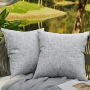 Outdoor Pillows For Patio Furniture Waterproof Pillow Covers Square Garden Cushi