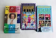 Richard Simmons Vhs Lot 3 - Toninandrsquo Uptown Broadway Sweat And Deal A Meal Video