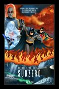 Sam Gilbey Batman And Mr. Freeze Subzero Poster Print Hand Num To /100