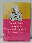 Pennyand039s Guide To Teenage Charm And Popularity Gloria Winters Rare Etiquette Book