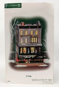 Department 56 Christmas In The City Andldquo21 Clubandrdquo Retired Cic Dept 56 Very Rare