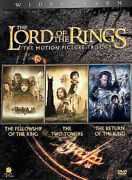 The Lord Of The Rings The Motion Picture Trilogy Dvd, 2004, 6-disc Set