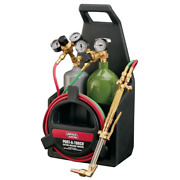 Port-a-torch Kit With Oxygen And Acetylene Tanks And 3/16 In. X 12 Ft. Hose For