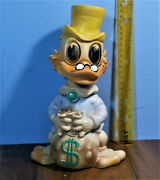 Uncle Scrooge Mcduck Duck Squeak Toy Doll Walt Disney Productions 1960s Rare 11