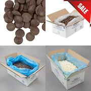 25 Lb Bulk Different Flavors Bakery Decorating Dipping Coating Chocolate Wafer