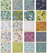 Ambesonne Botanical Printed Microfiber Fabric By The Yard For Arts And Crafts