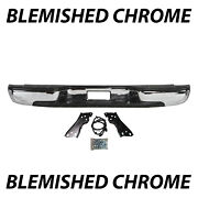 Blemished Chrome Rear Step Bumper Assembly For 1999-2006 Chevy Silverado 1500