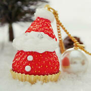 Sold Out Online Strawberry Santa Claus Necklace