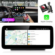 For Mercedes Benz C Glc V R Class 2015-2020 12.3 Android Radio Gps Car Stereo