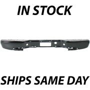 Blemished Primered Rear Bumper Face Bar For 1999-2006 Chevy Silverado Gmc Sierra