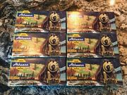 Athearn 7.5 Empty Boxes - Lot Of 6 Used Boxes - Good Condition