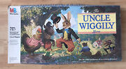 Vintage 1988 Uncle Wiggly Board Game No. 4902 Milton Bradley In Box Complete
