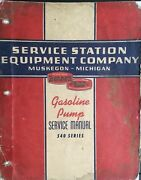 Bennett 540 Gas Station Pump Service Catalog Manual 1941 Bulletins And Ill. Parts