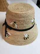 Kate Spade New York Bee Cloche Hat Stunning And Chic Brand New Adorable Nwot
