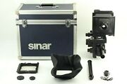 Opt Mint In Case Sinar P2 4x5 View Camera Nikkor-w 150mm F/5.6 From Japan 202