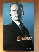 Hot Toys Mms 189 The Avengers Iron Man Agent Phil Coulson Clark Gregg Used