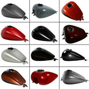 6 Gallon Fuel Gas Tank Fit For Harley Street Electra Cvo Road Glide 2008-2021