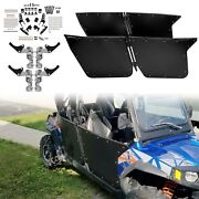 Bear Claw Doors Black For Rzr-4 800 2010-2014 And Rzr Xp4 900 2012-2014