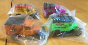4 Matchbox Collectible Die Cast Kelloggs Cereal Cars Trucks Sealed