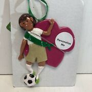 Department 56 Girl Scout Soccer Multicolor Hanging Ornament 6000382