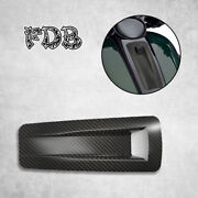Fit H-d 2008-19 Touring Trike Real Carbon Fiber Console Pod Assembly Robe Cover