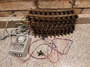 Lgb 11 Train Track And 5003/110 Transformer G Scale 1988 Not Complete B4