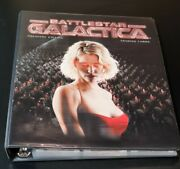 Battlestar Galactica 2005 Ra Premiere Edition Factory Binder And 150+ Cards