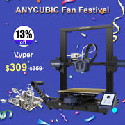 [pre-order] Anycubic Vyper Fdm 3d Printer 4.3 Tft Auto Leveling 245245260mmandsup3